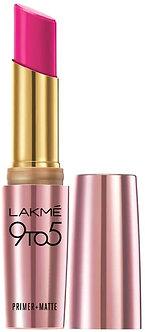 Lakme 9to5 Primer Matte Lipcolour,Pink Post MP20,3.6g