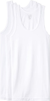 Jockey Men's cotton Vest (Pack of 3) (Modern classic) (color may vary)