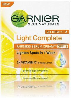 Garnier Skin Natural Light Complete Serum Cream SPF19,45g