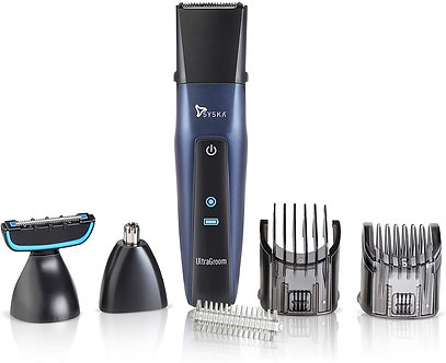 SYSKA HT3030K Ultragroom Pro Styling 5in1Kit with 50min. Running time (Blue)