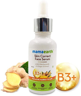 Mamaearth's skin correct face Serum Acne and Ginger Extract 30ml