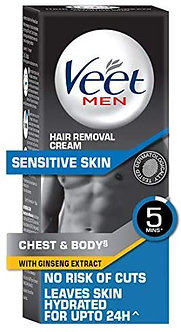 Veet Hair Removal creme for Men , sensitive skin 100g