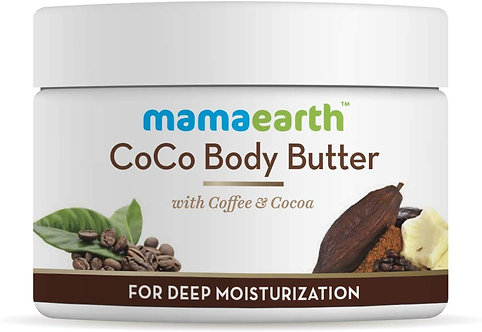 Mamaearth's coco body cream butter for Dry Skin,for winters better than body