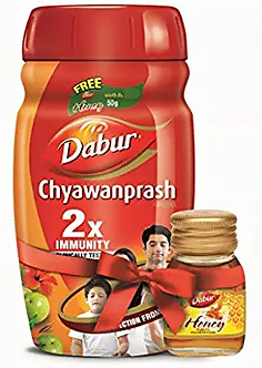 Dabur Chyawanprash 2X Immunity -1kg with Dabur Honey -50g free