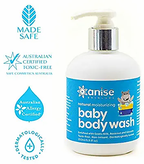 Anise skincare Natural Ultra moistureing Baby body wash