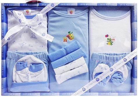 Mini Berry 13piece Unisex Baby 'sGift set Blue