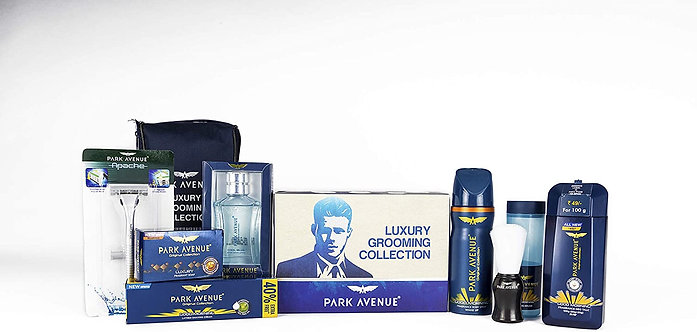 Park Avenue Luxury Grooming Collection (Combo of 7+Travell pouch)
