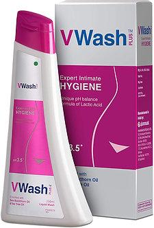 VWash plus Intimate Hygiene Wash 200ml