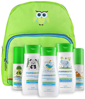 Mamaearth's complete Baby Care Kit with BadyLotions,Shampoo,Bodywash, Mosquit