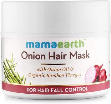 Mamaearth's Onion Hair Mask for Hairfall Control with Organic BamBoo Vinegar200g