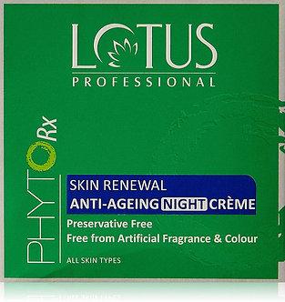 Lotus Herbals Professional PHYTORx skin Renewal Anti-aging white creme,50g