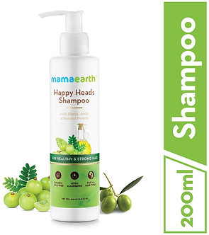 Mamaearth's happy Heads Natural Protein Hair Shampoo 200ml