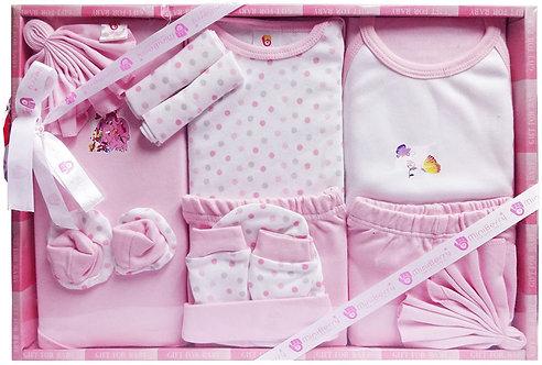 Mini Berry Baby'sGift Set pink(13piece)