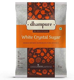 Dhampure White Crystal Sugar, 1kg