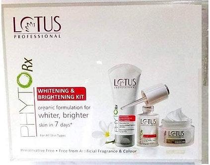 Lotus Herbals combo of Professional PHYTORx Whitening and Brightening