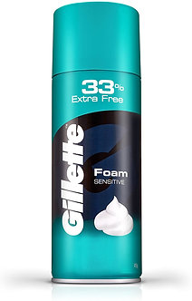Gillete Classic Sensitive Shave foam -418g(33%extra)