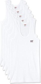 Lux Venus Men's Solid Vest (Pack of 3)