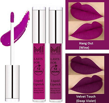 Mi fashion long lasting liquid Matte lipstick for women long lasting waterproof