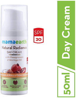 Mamaearth's Day Cream with SPF20+, Whitening and Tightening facecream
