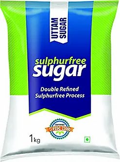 Uttam Sugar Sulphurless Sugar, 1kg