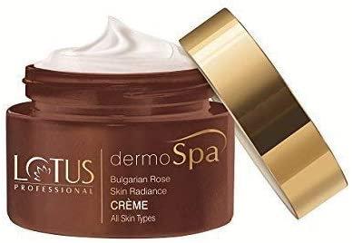 Lotus Herbals Dermo Spa Bulgarian Rose Skin radiance creme with SPF20,50g