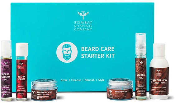 Bombay shaving company Beard care starter Gift kit for Beard growth and grooming