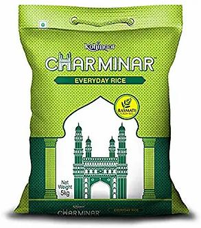 Kohinoor Charminar Everyday Basmati Rice 5 kg 29% off
