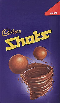 Cadbury Dairy Milk Chocolate Shots, 208.8 gm Carton (58 units x 3.6 gm)