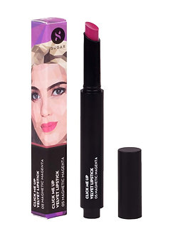 Sugar Cosmetic Click Me Up Velvet Lipsticks-05(Margenta Deep Fuchsia Pink)