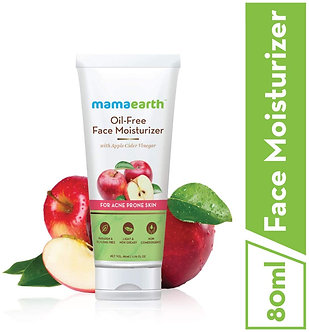 Mamaearth's oil free Moisturizer for face with Apple seed Vinegar for Acne Prone