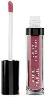 Lakme Absolute Matte Melt Liquid Lipcolour, Vintage Pink,6ml