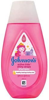 Johnson Baby Active Kids Shiny Drops Shampoo 200ml