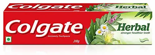 Colgate Herbal Toothpaste, Goodness of Natural Ingredients for Healthy Teeth, 20