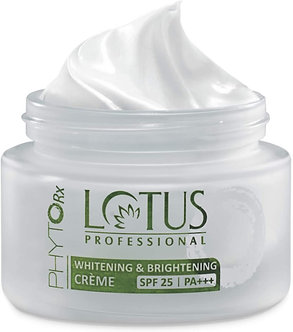 Lotus Professional Phyto Rx Whitening and Brightening creme,SPF 25PA +++,50g