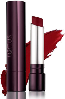 Lotus Herbals Makeup Proedit Silk Touch Matte Lipcolour, Rising Red ,Red,4g