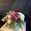 Thumbnail: FLOWERS IN A SQUARE VASE