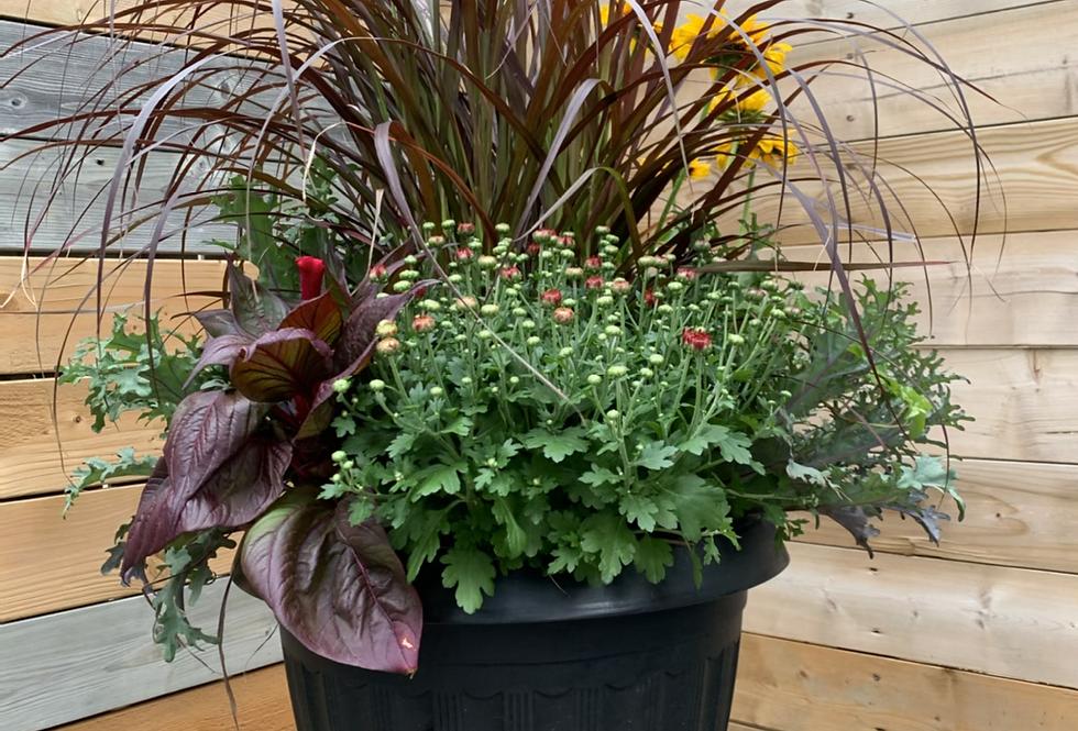 Large Outdoor Autumn Planter