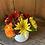 Thumbnail: FLOWERS IN WHITE CERAMIC VASE