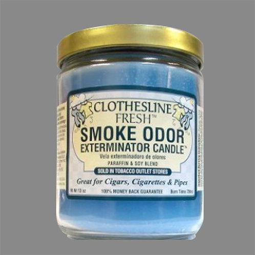 Smoke Odor Exterminator Candles -Clothesline Fresh