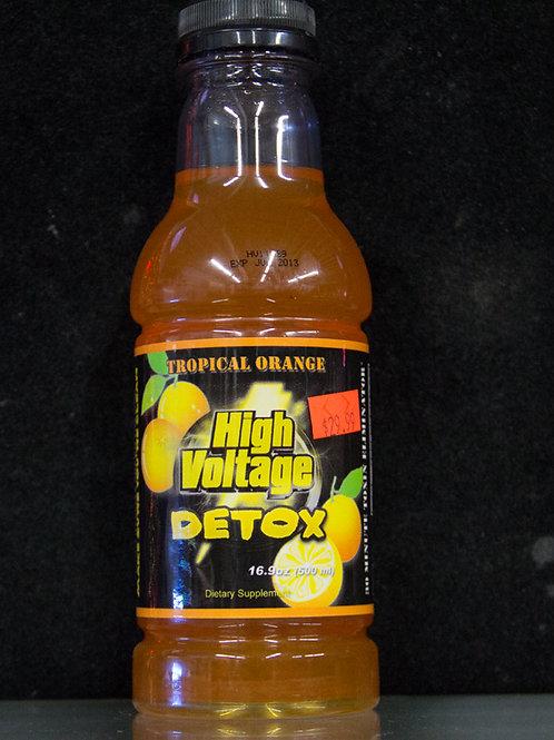 High Voltage Detox-Tropical Orange 16oz