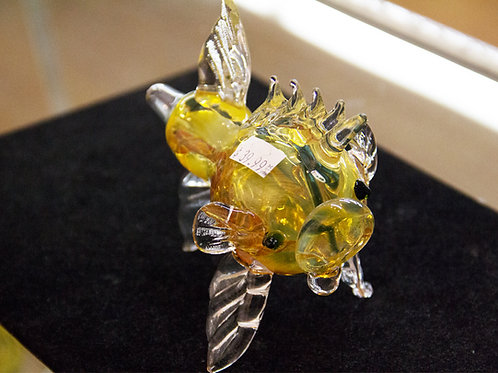 Pig-Fish Glass Pipe