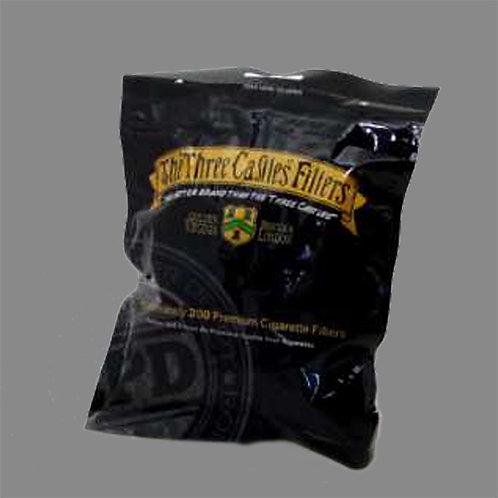 3 Castles Filter Plugs Bag - 200