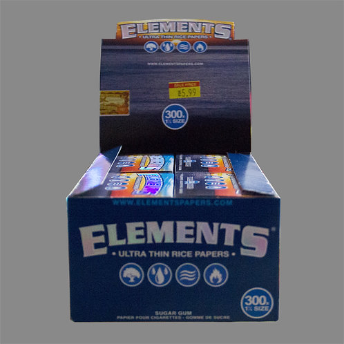 ELEMENTS Ultra Thin Rice Paper size 1 1/4- BOX