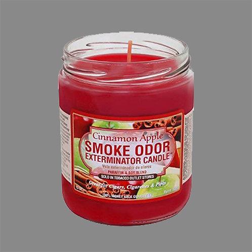 Smoke Odor Exterminator Candles - Cinnamon Apple