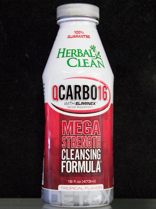 Mega Strength Herbal Clean Q Carbo16 Tropical 16oz
