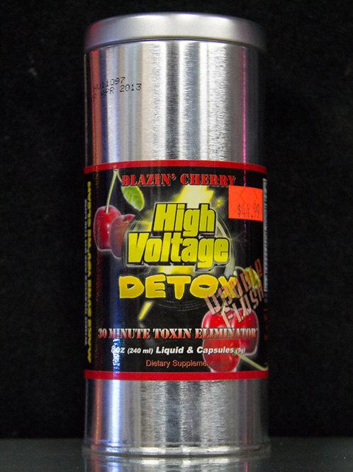 High Voltage Blazing Cherry Body Detox Double Flus