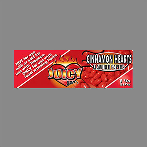 1 1/4 Juicy Rolling Paper - Cinnamon Heart