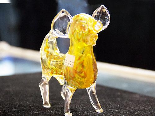 Chihuahua Dog Glass Pipe