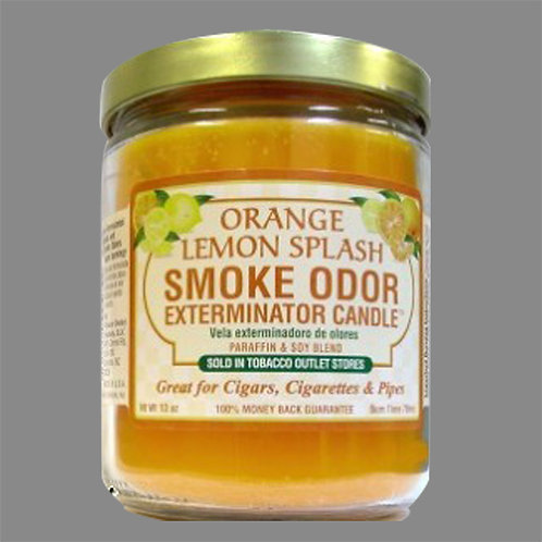 Smoke Exterminator Candles - Orange Lemon Splash