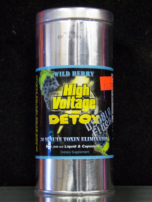 High Voltage Wild Berry Body Detox Double Flush